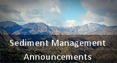 Sediment Management Announcement