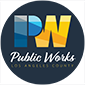 Department of Public Works Seal: Public Service That Works