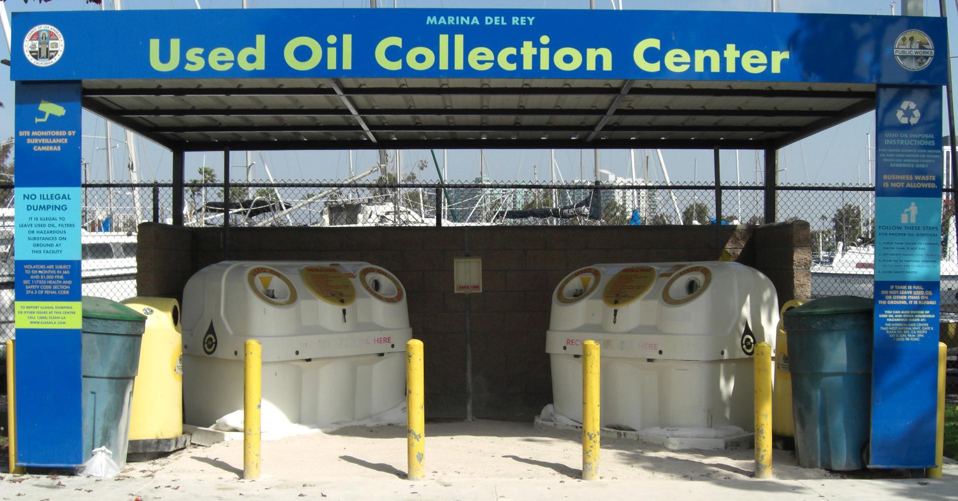 Waste Oil Disposal >> La County Dpw Used Motor Oil