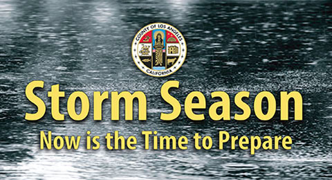 Storm Season - Now is the time to prepare