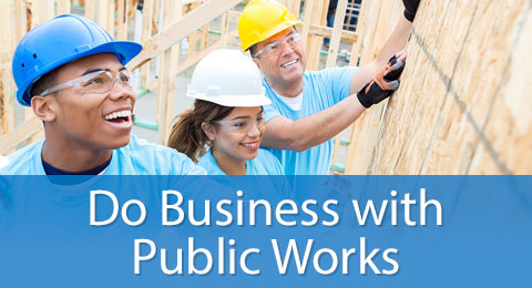 Do Business with Public Works