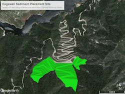Cogswell Sediment Placement Site, Artistic Rendering 2
