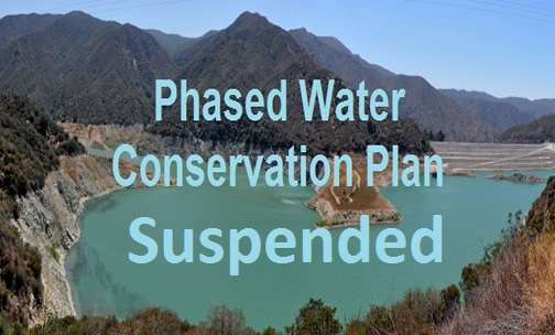 Phased Water Conservation Plan